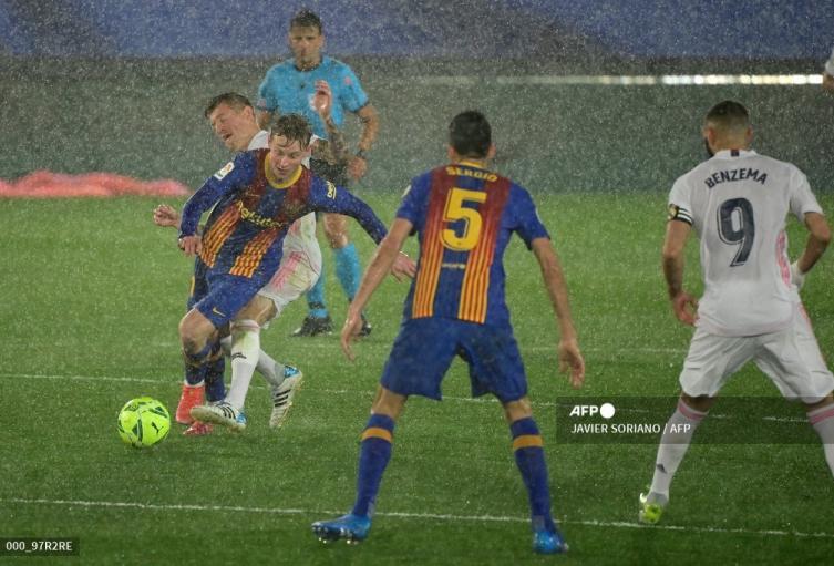 Real Madrid vs Barcelona 2021
