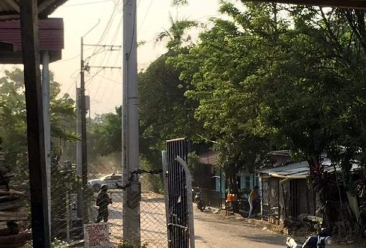 Vía Tibú - El Tarra escenario  de acción violenta contra la Policía