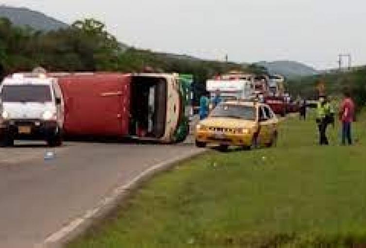 Accidente de Tránsito Puerto Santander -Cúcuta