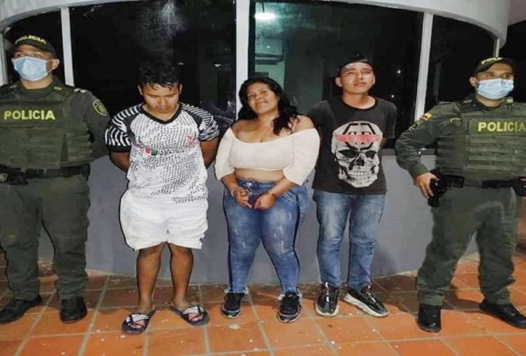 Hermanos capturados