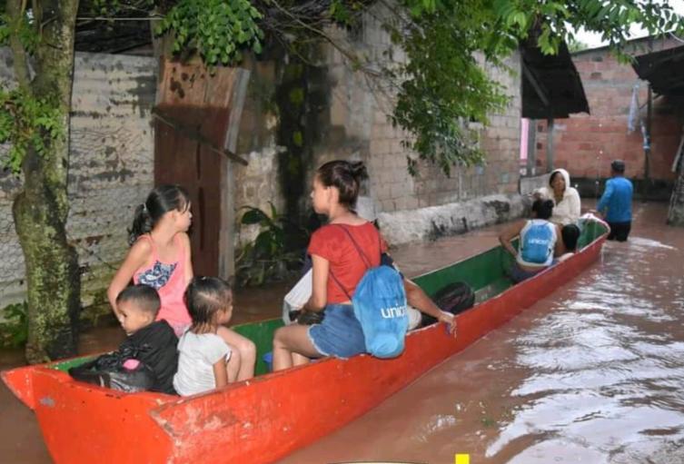 Inundaciones Puerto Santander