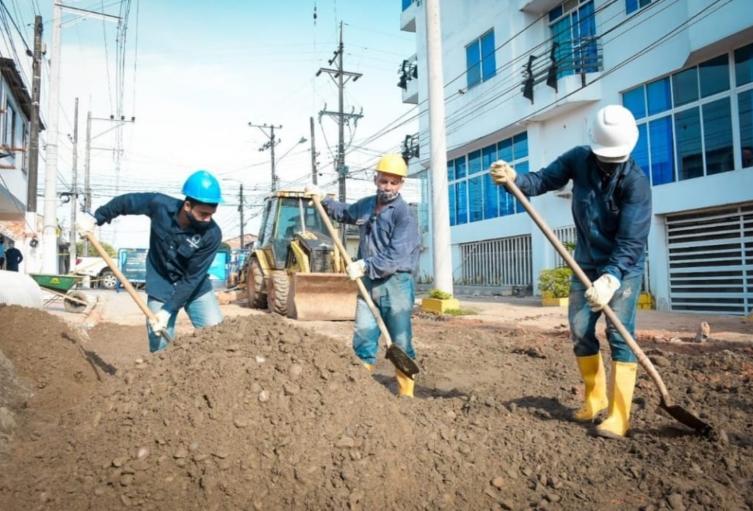 Por obras de alcantarillado en Barrancabermeja se solucionan las inundaciones en importante sector de la Ciudad