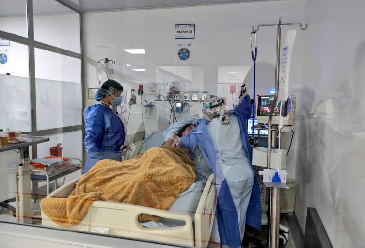 Hospital Regional del Magdalena Medio colapsado por ocupación UCI