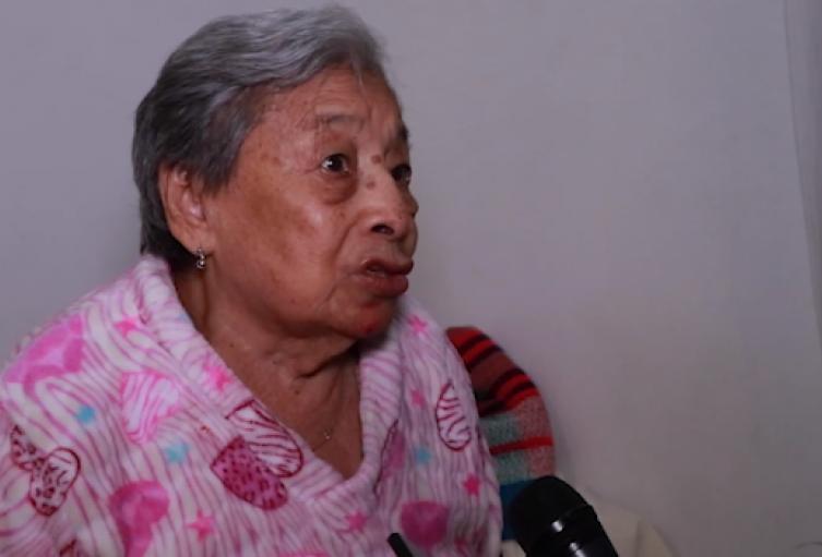Adulta mayor resultó herida en medio de las protestas en Bucaramanga