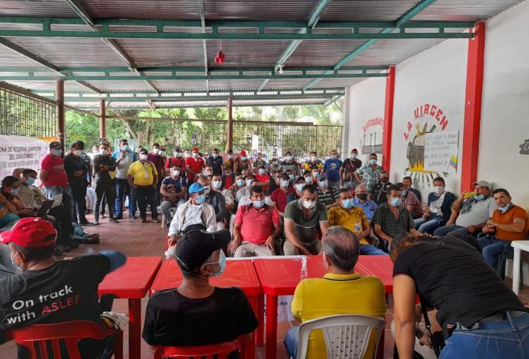 Líderes sociales del Catatumbo