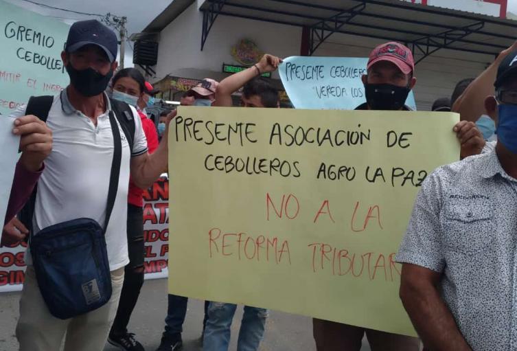 Protesta de Comunidades del Catatumbo