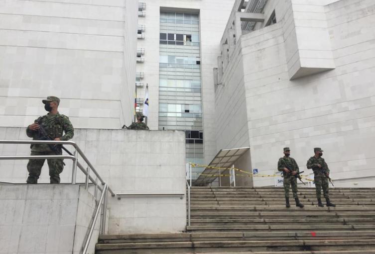 Luego de disturbios, Ejército hace presencia en el área metropolitana de Bucaramanga