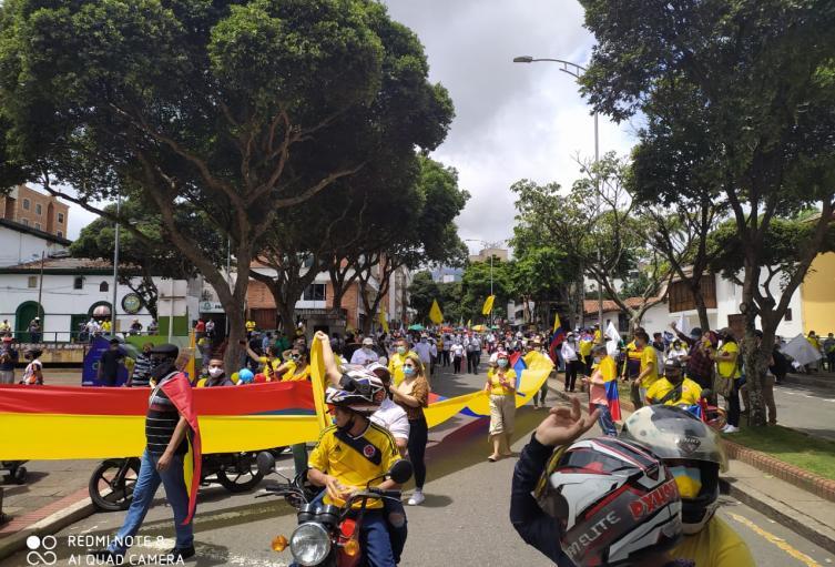 Marchas en Bucaramanga sí estarían infiltradas, según análisis de la Policía