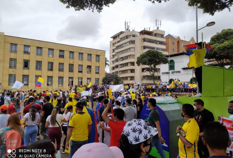 """""""Pedimos por la integridad física de los manifestantes"""": Personería de Bucaramanga"""