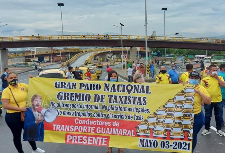Taxistas Cúcuta