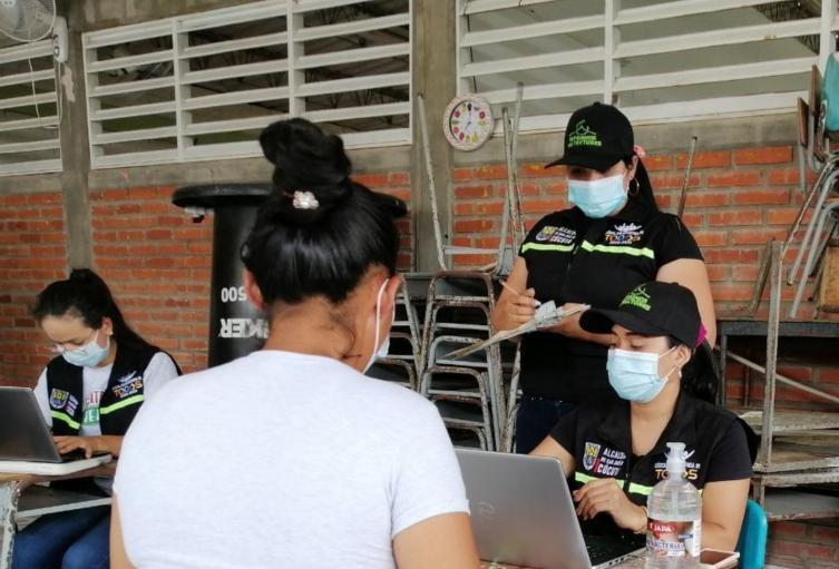 Censo a desplazados en Cúcuta