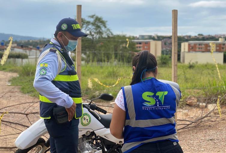 Sanción tránsito Bucaramanga