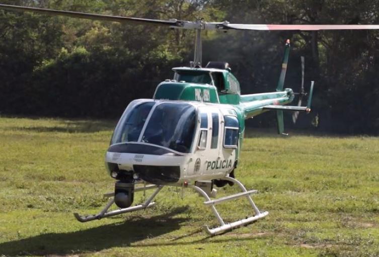 Con nuevo Comandante de la Policía Metropolitana, Bucaramanga estrena cuadrante aéreo