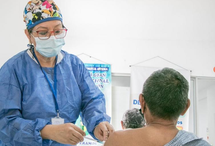 En Neiva 66.000 personas ya tienen las dos dosis contra el covid-19