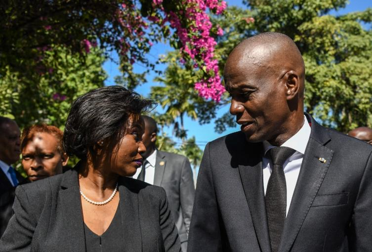 Martine Moise, primera dama de Haití