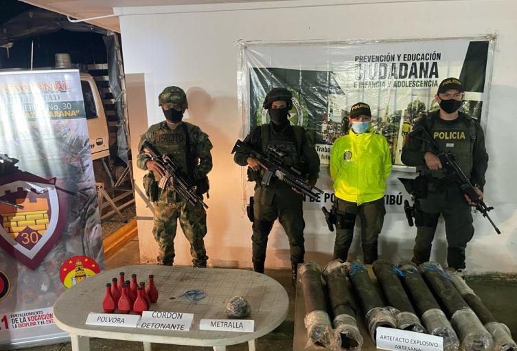Explosivos en el Catatumbo