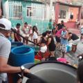 Suministro de agua potable en carrotanque.