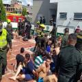 Los internos intentaron fugarse confirmó la Policía Metropolitana de Bucaramanga.