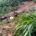 Alud de tierra deja viviendas afectadas en Barrancabermeja