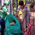 Los jóvenes divulgarán en sus familias la forma como se hace el reciclaje.