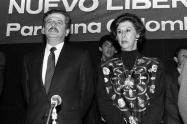 Luis Carlos Galán y Gloria Pachón