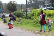 Venezolanos buscan regresar a su país / cuarentena en Colombia / coronavirus en Colombia