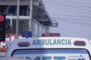 Ambulancia no atendió ciudadano de Camerún