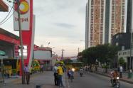 Paro buses Bucaramanga