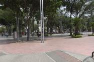 finaliza cierre del parque Santander en Cúcuta