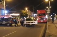 Accidente de tránsito en Los Patios