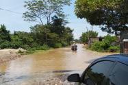 Inundaciones en Tibú