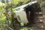 Las autoridades adelantan la investigación del accidente que dejó cuatro muertos.