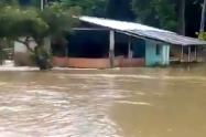 Familias afectadas lluvias Santander