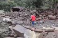 municipios incomunicados por derrumbes en Santander