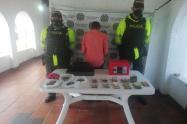 Capturan hombre que ingreso a hurtar locales en Pamplona
