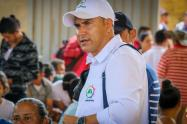 Deiby Bayona alcalde de Hacarí, Norte de Santander