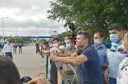 Leopoldo López recorrió la zona de frontera en Norte de Santander