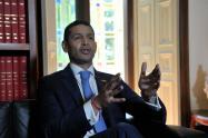 Daniel Palacios, ministro del Interior