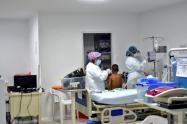 Aumentó la ocupación en la UCI pediátrica del Hospital Universitario de Santander