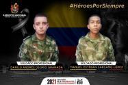 Soldados Asesinados en zona rural de Cúcuta