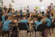 Alumnos en Clase en Norte de Santander