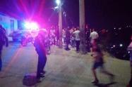 Acción violenta en Ocaña y Cúcuta