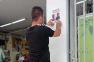 Ciudadanos iniciaron campaña para apoyar la búsqueda de Sara Sofía en Bucaramanga