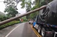 En la vía Rionegro - El Playón