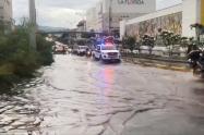 En algunos puntos de Bucaramanga llovió hasta 27 milímetros.