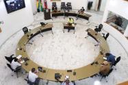 Concejo de Bucaramanga suspendió presencialidad por caso positivo de COVID-19