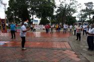 Protesta en Cúcuta