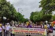 En Barrancabermeja avanza la movilización contra la Tributaria