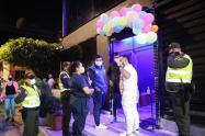 Con operativos en la zona rosa de Bucaramanga, autoridades hacen cumplir las medidas restrictivas