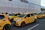 Taxis protesta Bucaramanga